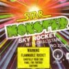 Star monster sky rocket